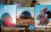 C4D教程:创意三维场景合成 Skillshare – Create an Abstract Landmark Using Cinema 4D and Photoshop