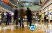 视频素材:实拍上海购物中心景观高清素材