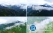 视频素材:航拍大山云海4K视频