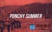 AE模板-时尚动感青少年夏季旅游健身冲浪动画 Punchy Opener