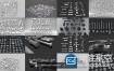 3D模型:科幻风格硬面零部件 All Kitbash Collection UV'ed FBX only