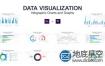 AE模板-企业数字可视化统计图信息图表统图形视频动画