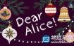 AE模板-圣诞节活动庆祝文字动画