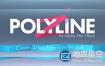 AE插件:三维多边形线条折叠路径动画 Aescripts Polyline Pro v1.2.0