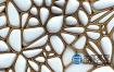 C4D教程:块状滑折起幅动画