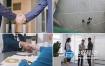 视频素材:实拍企业商务商业握手镜头