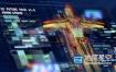 AE模板-科技感人体医学信息化数据军事UI界面动画元素 UI FUTURE PACK V1.5