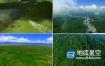 视频素材:实拍震撼大气草原牛羊航拍