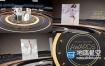 AE模板-三维舞台奥斯卡颁奖典礼人物介绍片头 Golden Awards Promo