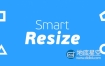 AE脚本:合成大小自动裁剪 Aescripts Smart Resize v1.0