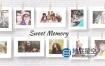 AE模板-拍立得悬挂唯美回忆照片相册片头