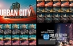 LUTS预设:50种夜晚城市夜景LUTS调色预设 50 Urban City Lightroom Presets LUTs