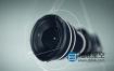 AE模版-便携式摄像机单反微单镜头演绎logo展示动画