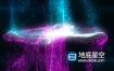 AE模板-多种颜色粒子碰撞logo标志展示片头动画
