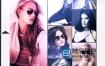 AE模板-商业时尚创意杂志时装周vlog模特作品集展示动画