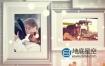 AE模板-照片墙相册浪漫的婚礼纪念日唯美回忆生日祝福电子相册