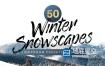 LUT预设:50个冬季风景旅行摄影视觉美感Lightroom预设和LUT调色预设