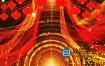 视频素材:2020年新春年会颁奖大气红金动态舞台背景素材