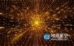 视频素材:2020金色粒子颁奖年会舞台背景动态视频