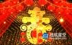 视频素材-2020鼠年新春喜庆动态背景素材