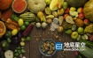 3D模型-52组高品质蔬菜水果食物等模型合集 Evermotion Archmodels
