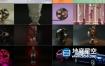 C4D灯光预设-10组C4D Octane渲染器灯光场景预设合集