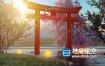 AE模板-春天花瓣飞舞荷花日本樱花节三维宣传片头动画