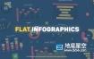 PR预设-MG平面设计图形地图信息图表动画饼图条可追踪呼出等专业图表预设