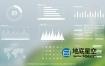 PR预设-MG信息图表社会化媒体统计排行分析图简约空间感展示动画