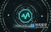 AE模板-未来科幻高科技故障标志logo展示动画