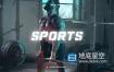 AE模板-时尚动感动态体育健身拳击运动文字排版片头动画 Sport Youtube Channel Opener