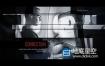 AE模板-黑白遮罩城市货物计算机建筑工业移动电话宣传幻灯片片头动画 Mobility And Movement
