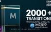 PR模板-2000多个3d过渡平移缩放转场RGB色彩分离漏光无缝转场过渡 Modern Transitions