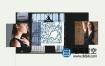 AE模板-时尚动感快速产品宣传模特写真春夏季时装秀幻灯片文字排版动画