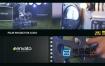 AE模板-经典复古的电影交投影机开机标志logo展示动画