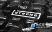 FCPX插件-30种简单纯色文字标题排版动画 Strong Titles Motion模板