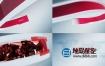 AE模板-新闻广播电视栏目现场直播天气预告高科技图形元素片头动画