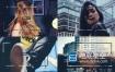 AE模板-时尚动感透明边框快速动态图形文字标题排版视频假期旅行宣传短片 Minimal Opener