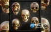 3D模型-骷髅头模型 Billelis 3D Skull Model Pack Vol.1