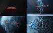 AE模板-精力充沛的线头人物跳舞派对文字排版片头动画