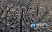 C4D模型-法国巴黎密集的城区楼房C4D模型 Paris city building