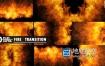 视频素材-10组大火燃烧爆炸转场过渡视频动画