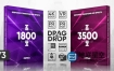PR模板+预设-5300种时尚动感快速数字失真信号故障缩放无缝转场过渡调色预设Premiere模板Transitions Presets Pack