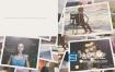 AE模板-唯美漂亮的婚礼周年纪念日情人节家庭照片幻灯片相册