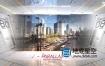 AE模板-科技感信息快速发展未来科幻屏幕宣传动画