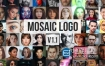 AE模板-马赛克相册拼贴照片logo标志展示动画 Mosaic Photos Logo Reveal V 1.1