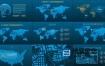 AE模板-150个HUD信息图表未来数字科技UI元素场景动画 HUD Infographic