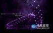 AE模板-唯美抽象的Plexus粒子点线图形动画文字标题开场片头动画Plexus Digital World