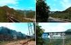 视频素材-4K航拍山间大桥货运铁路火车实拍视频