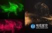 AE模板-飞扬金色粒子沙尘logo标志展示动画